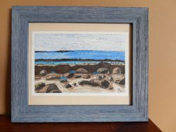 Seaside Park Beach,9x6 $125