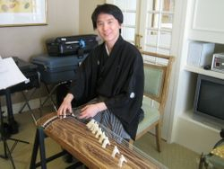 Studying the Koto in Japan in 2010
