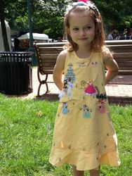 sleeping beauty cotton sundress