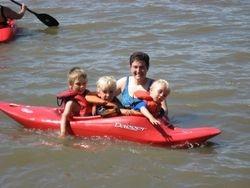 Family fun in the bay