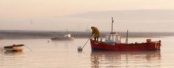 Ribble Estuary, Lytham Shrimp Boat.
