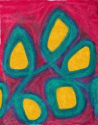 A Legacy of Gems, Oil Pastel, 11x14, Original Sold