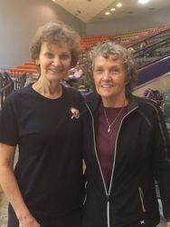 Cynthia Boudreaux and Lila Lodridge