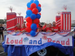 Greenwood Parade Float