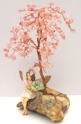 Cherry Quartz Tree
