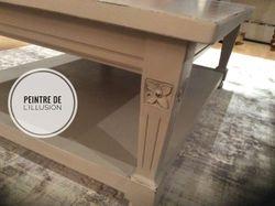 Table peinte Projet client