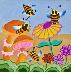 Bees Three