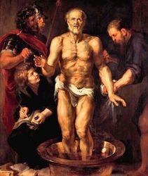Rubens, Death of Socrates, 1605