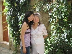 Elina and Mom