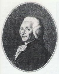 Joseph Ignace Guillotin. 1789.