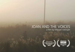 JOAN AND THE VOICES by Mikayel Vatinyan
