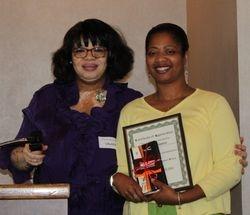 Recognizing Angela our Executive Secretary