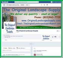 The Original Landscape Supply Facebook Page