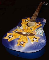 Lindsay's Disney Guitar