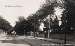 Birmingham Road Walsall.