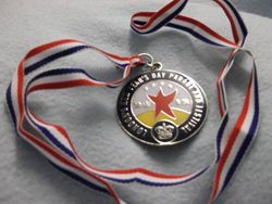 New Years Day Parade Medal
