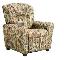 #401C Child Recliner  - Flooded Timber