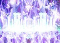 crystal; healing city
