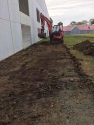 Preparing Treatment Plant Site