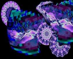 Purple Paradise Collage