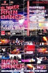RAIN DANCE PARTY 2003 - 01