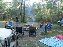 Newnes camp ground