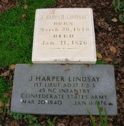 1st Sgt. Jed Harper Lindsay, Jr.