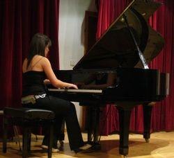 Cristina Diego-piano en concierto