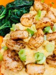 Spicy Shrimp & Greens