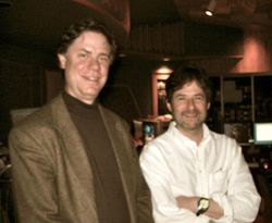 With Composer, James Horner