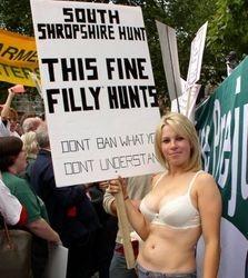 Fun protest.
