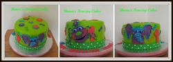 CAKE 59A2 - Giggly Bellies Cake