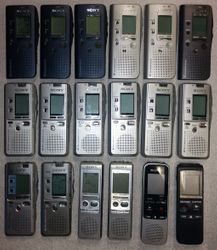 Sony digital voice recorders