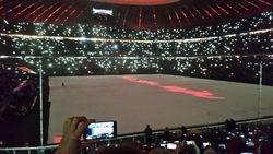 FC Bayern post game Xmas show