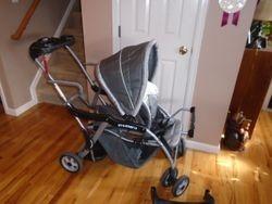 Baby Trend Sit N Stand Deluxe Stroller - Rockridge - $70