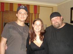 Ryan Buell, Chad Clark & Julie Rose