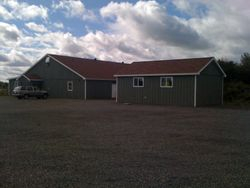 New storage shed 2012