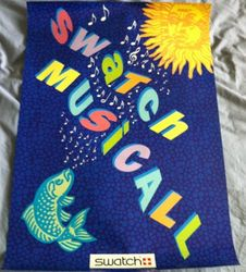 Swatch Musicall Poster