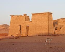 Lake Nasser : Temple of Wadi es Sebua