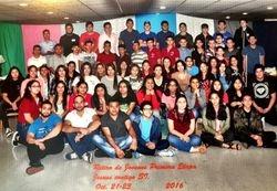 Retiro de Jovenes 1ra Etapa Octuber 21-23 del 2016