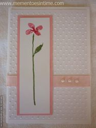 Dotty Flower Card