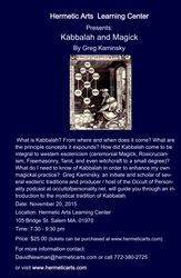 Kabbalah and Magick