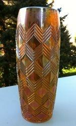 Chevrons vase possibly Rindskopf