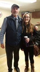 CBF president George with Aislinn