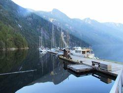 dock Princess Louisa Inlet