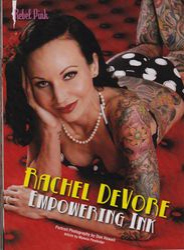 My Lovely Client Ms. Rachel Devore in Rebel Ink Magazine Feb/March 2014