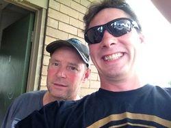 Craig Flood and Rob Vazey