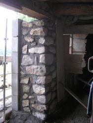 reconstruction mur intérieur