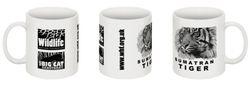 Sumatran Tiger WHF mug