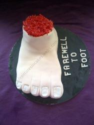 Foot Cake